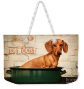 Get Your Hot Dogs Weekender Tote Bag