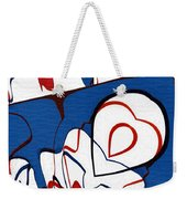 Getting Crushed Weekender Tote Bag