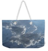Geyser Basin Cloud Reflection Weekender Tote Bag