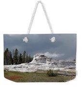 Geyser In Yellowstone Weekender Tote Bag