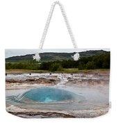 Geysir Eruption Sequence Weekender Tote Bag