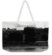 Ghirardelli Square In Black And White Weekender Tote Bag by Linda Woods