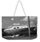 Ghost Crab Boat Weekender Tote Bag