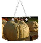 Ghost Pumpkin Weekender Tote Bag