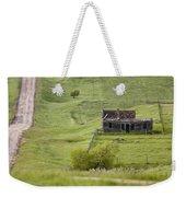 Ghost Town Galilee Saskatchewan Weekender Tote Bag