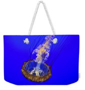 Ghostly Jellyfish Weekender Tote Bag