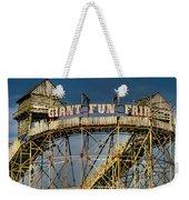 Giant Fun Fair Weekender Tote Bag by Adrian Evans