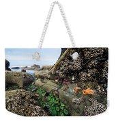 Giant Green Sea Anemone Anthopleura Weekender Tote Bag