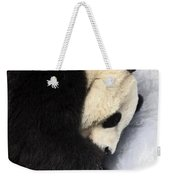 Giant Panda Portrait Weekender Tote Bag