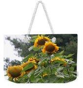 Giant Sunflowers Weekender Tote Bag