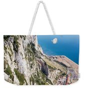 Gibraltar Rock And Mediterranean Sea Weekender Tote Bag