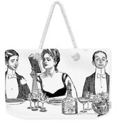 Gibson: A Word To The Wise Weekender Tote Bag