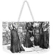 Gibson Girl, 1890s Weekender Tote Bag