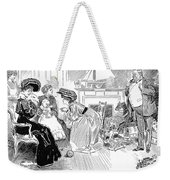 Gibson: Image Of Father Weekender Tote Bag