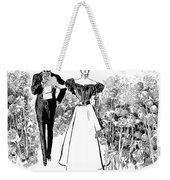 In Garden Of Youth Weekender Tote Bag