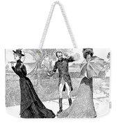 Gibson: Predicament, 1899 Weekender Tote Bag