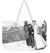 Gibson: The First Day Out Weekender Tote Bag