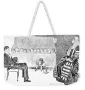 Gibson: Trial By Jury Weekender Tote Bag