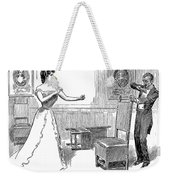 Gibson: Warning, 1900 Weekender Tote Bag