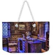 Gillette Castle Office Hdr Weekender Tote Bag by Susan Candelario
