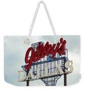 Gilleys Dallas Weekender Tote Bag