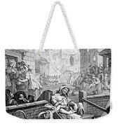Gin Lane, William Hogarth Weekender Tote Bag