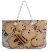 Gingerbread Weekender Tote Bag