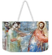 Giotto: Road To Calvary Weekender Tote Bag