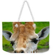 Giraffe In The Park Weekender Tote Bag