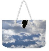 Girl And The Sky Weekender Tote Bag