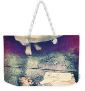 Girl In Abandoned Room Weekender Tote Bag