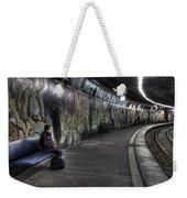 Girl In Station Weekender Tote Bag by Joana Kruse