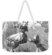 Girl On Swing, 1873 Weekender Tote Bag