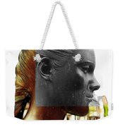 Girl Statue Weekender Tote Bag