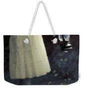 Girl With An Oil Lamp Weekender Tote Bag