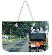 Girls And Chauffeur Weekender Tote Bag