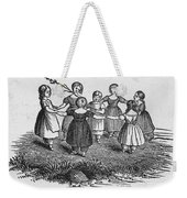 Girls Playing, 1844 Weekender Tote Bag