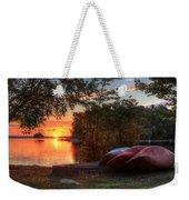 Give Me A Canoe Weekender Tote Bag