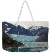 Glacial Bay And Ice Weekender Tote Bag by Mike Reid