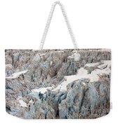 Glacial Crevasses Weekender Tote Bag