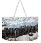 Glacial Edge Waterfall Weekender Tote Bag