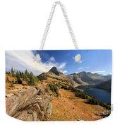 Glacier Hidden Lake Weekender Tote Bag