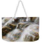 Glacier Np Waterfall Weekender Tote Bag