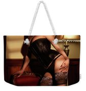 Glamour Photo Of A Woman Weekender Tote Bag