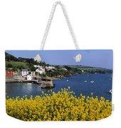 Glandore Village & Harbour, Co Cork Weekender Tote Bag