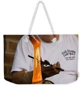 Glass Blower Weekender Tote Bag