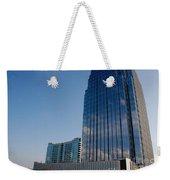 Glass Buildings Nashville Weekender Tote Bag by Susanne Van Hulst
