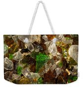 Glass Chips Weekender Tote Bag