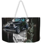 Glass Etching Classic Weekender Tote Bag