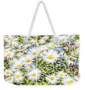 Glass Flowers Weekender Tote Bag